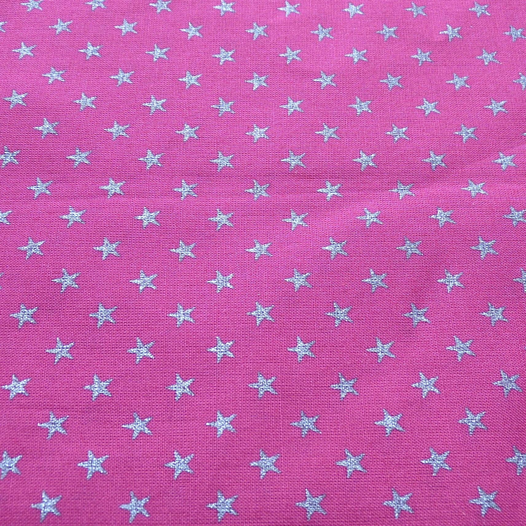 Rose fuchsia étoile argent – FSD
